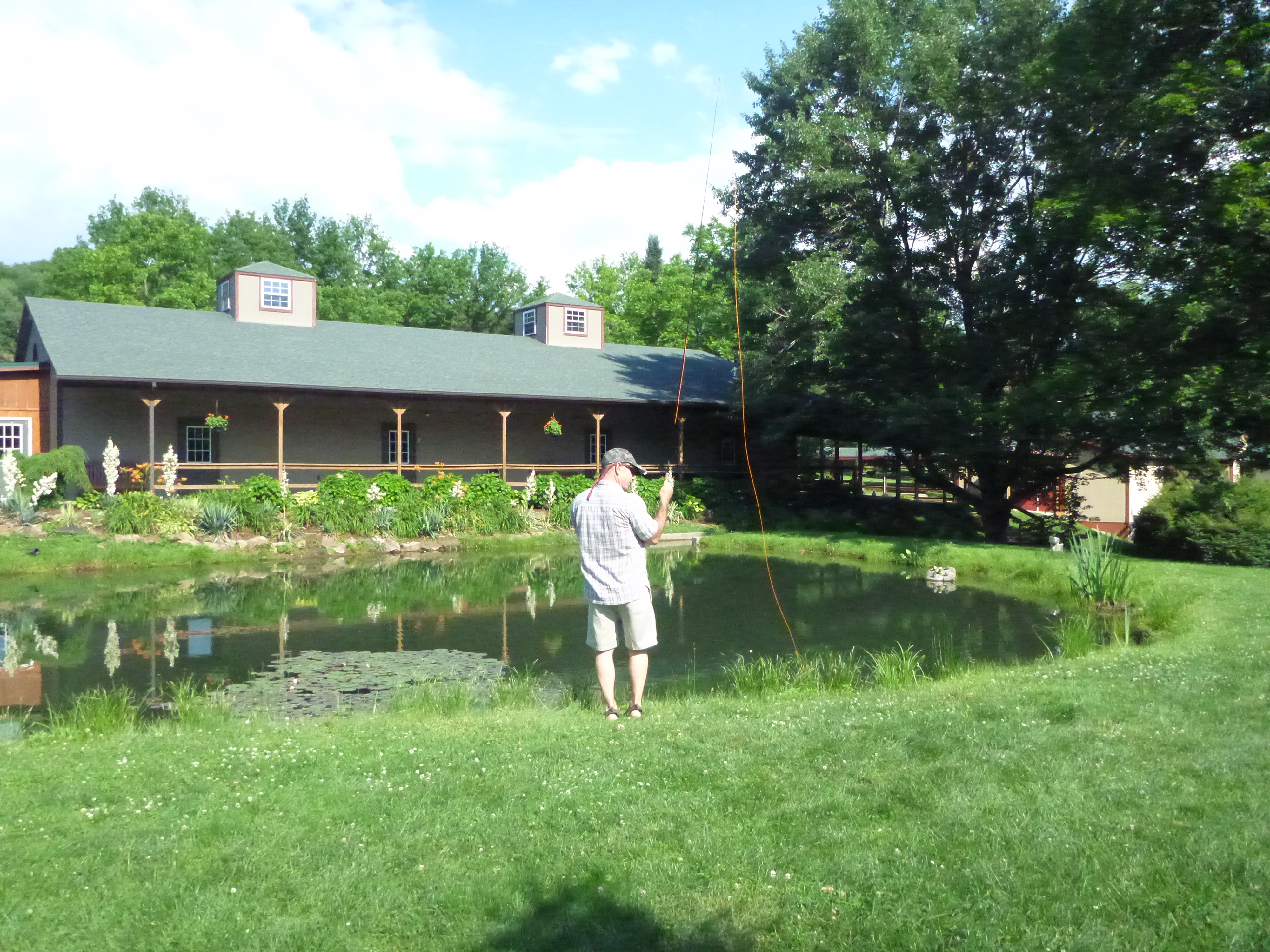 fly fishing at the laurel highlands trout trail date night pa